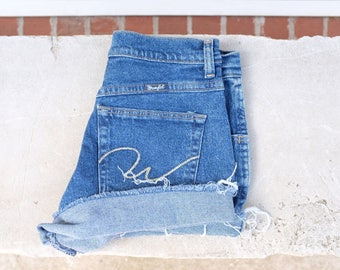 Reserved for kimberly* Vintage wrangler denim cut-off shorts