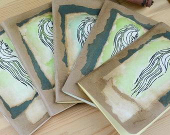 Pocket / Field Notes Pastel Inserts Rohan Horse Travelers' Notebook Journal Moleskine 14 x 9cm LOTR Riders of Rohan Fountain pen friendly