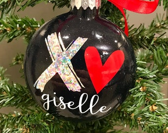 Personalized Valentine's Day Ornament