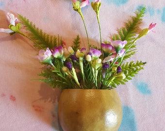 Refrigerator Magnet Magnetic Wall Pocket Gourd Floral Arrangement Flowers