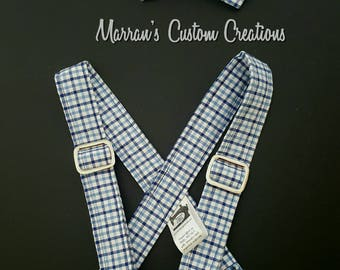 Boys suspender and bow tie set, suit sets, bow ties, baby boy accessories, suspenders, boy Holiday outfits, 1st birthday outfit, smash cake