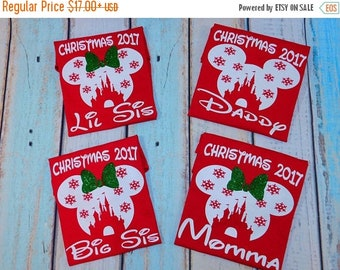 ON SALE Disney Christmas shirts,Disney vacation,Christmas at the castle,Very Merry Christmas, Disney Holiday,Christmas matching shirts,Disne