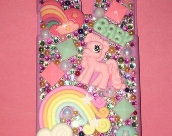 Samsung Galaxy S4 Little Pony Phone Case