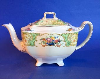 Rare Vintage Johnson Brothers Bros Duchess Pareek China Teapot
