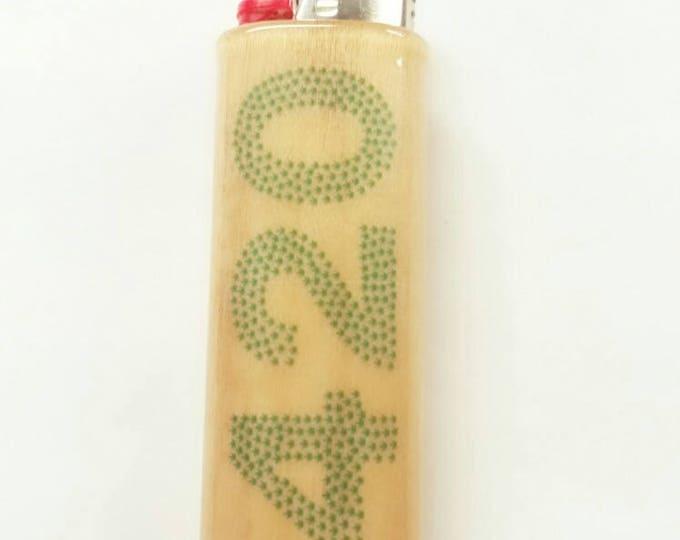 420 BIC Lighter Case Holder Sleeve Cover Pot Weed Marijuana Ganja