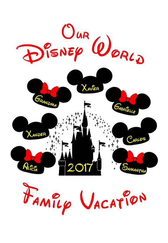 Our Disney World Disneyland Family Vacation 2017 2018