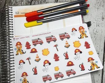 Fire's Out Decorative Stickers
