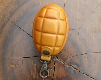 Grenade Purse, Coin Purse, Change Purse, Key Ring, Bag Accessory