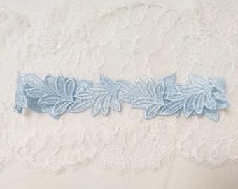 Blue garter, blue bridal garter, wedding garter, lace garter, bridal garter set, toss garter, garter belt