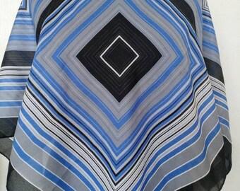 Vintage Pier Damiani geometric scarf