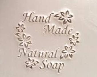 Handmade soap stamp natural soap stamp acrylic soap stamp
