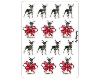 """LovedbyGaby stickers """"Chihuahua surprise"""""""