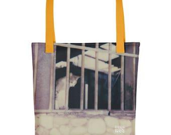 POLAROI Tote bag: Cat