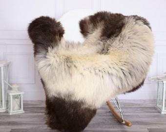 Sheepskin Rug | Real Sheepskin Rug | Shaggy Rug | Chair Cover | Sheepskin Throw | Beige Sheepskin | CHRISTMAS DECOR | #NOVHER38