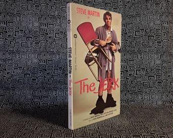 THE JERK Paperback Book Steve Martin  Comedy Bernadette Peters Carl Reiner, Movie Tie In, 1979 First Printing, Movie Photos