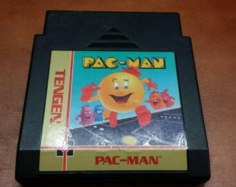 Pac-Man nes Nintendo video game, Pac-Man nes, Nintendo pac man