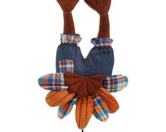 "Raz Imports 15.5"" TURKEY BUTT/Wreath Supplies/Fall-Thanksgiving Decoration/3716119"