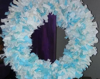 Shabby Chic Tattered Wreath