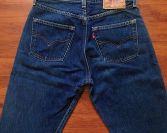 90's Levi's 501 Women's Specific - Made in USA - 29W 29L - Vintage Levis