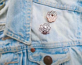 Desert Rose Enamel Pin Set!