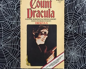 COUNT DRACULA (RARE Paperback Novelization by Gerald Savory)