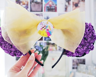 Disney Mickey Mouse Ears Inspired by Princess Rapunzel from Tangled