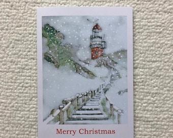 Christmas Cards Vlieland Lighthouse  Pack of 5