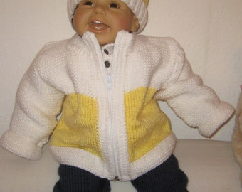 A Baby Boy or Girl - Knitted Clothing Set