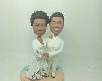 Lesbian Couple Personalize Wedding Cake Topper Personalize Lesbian Wedding Cake Topper Lesbian Wedding Topper Gay Female Wedding Cake Topper