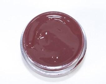 Vegan Lip Gloss : LADERA Lip Catnip. Dark brown Lip Gloss. Natural lip gloss.Vegan friendly. Lip gloss. Natural makeup.