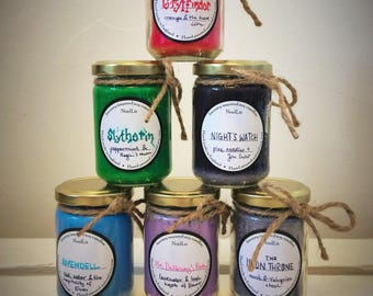 Literary Inspired Soy CANDLES - Harry Potter, Game of Thrones, Mrs Dalloway, Lord of the Rings, Sherlock Holmes books - perfect gift!