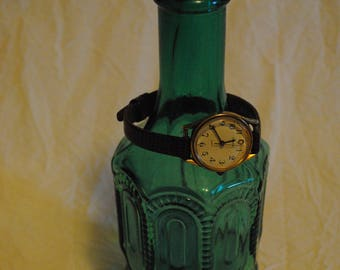 Timex T Cell quartz watch with Lizard grain band
