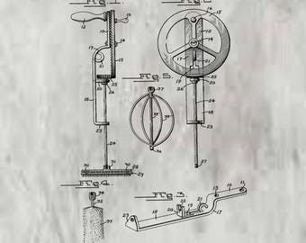 Kitchen Utensil Patent #1,290,333 dated Jan. 7, 1919.