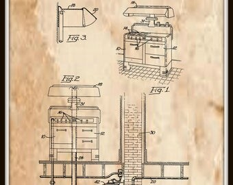 Venting Means for Kitchens Patent#2182106 dated December 5, 1939.