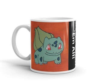 First in Line | Pokemon Bulbasaur Mug