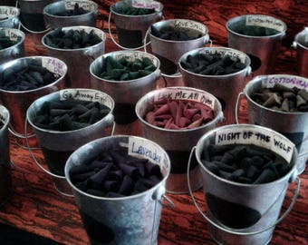 """SCENTS A-K 25 Premium 1"""" Hand-dipped Incense Cones"""