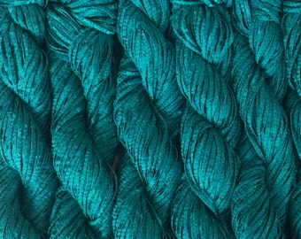Berroco BONSAI Bamboo Yarn 9.99+.99ea to Ship Matte Shiny Ribbon Yarn - Nori 4146 Green - Soft, Weighty, Drapey, Elegant, So Chic!