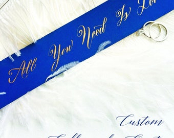 Custom Handwritten Calligraphy Quotation