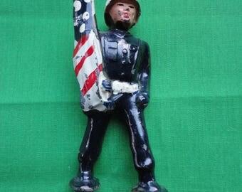 Vintage Cast Iron Soldier