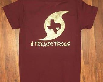 Texas Strong Hurricane Harvey T-Shirt