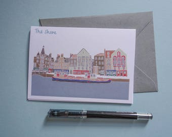 The Shore Leith Edinburgh Card