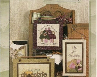 Quilt Pattern, Chocolate Quilt Patterns, Art To Heart, OH! Chocolate, Sewing Patterns, by Nancy Halvorsen, 3255200162