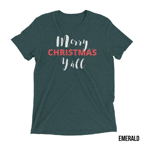 Merry Christmas Y'all | Southern Holiday Premium T-shirt