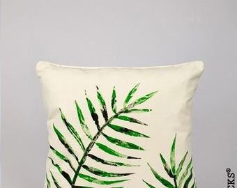 Woolocks® Palm Leaves Cushion 45x45cm