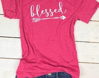 Blessed shirt, Blessed Mama, Blessed Mama Shirt, Blessed Mama TShirt, Blessed shirts for Women, Thankful shirt, Thankful tshirt, blessed tee