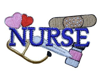 Nurse Tools Applique Patch (Iron on)