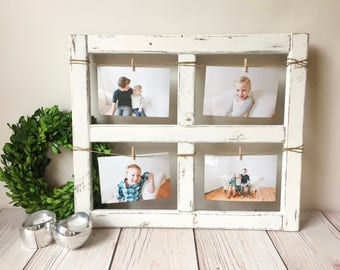 Window Frame   Old Window   Rustic Home Decor   Picture Frame   Window    Wood