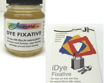 Jacquard iDye Natural Fabric Fibre Dye Fixative