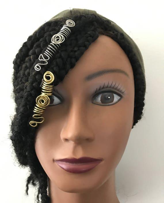 Boho Long Loc Jewelry Hair Jewelry For Braids Loc Jewelry