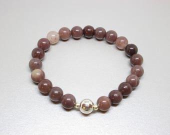Stone of positive change, opportunities and new beginnings in life, prosperity bracelet, abundance bracelet, healing stones, energy healing